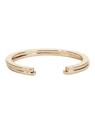 Half Layered Cuff: Gold