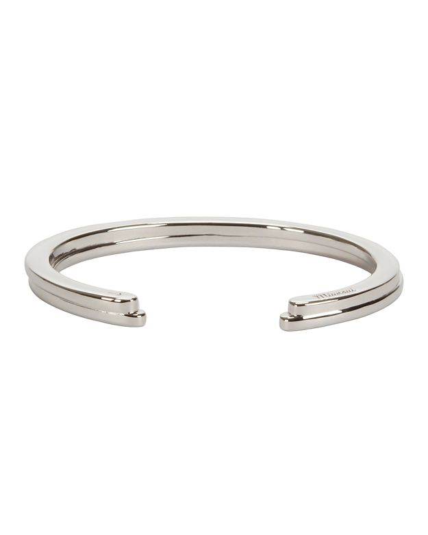 Miansai Sterling Silver Half Layered Cuff