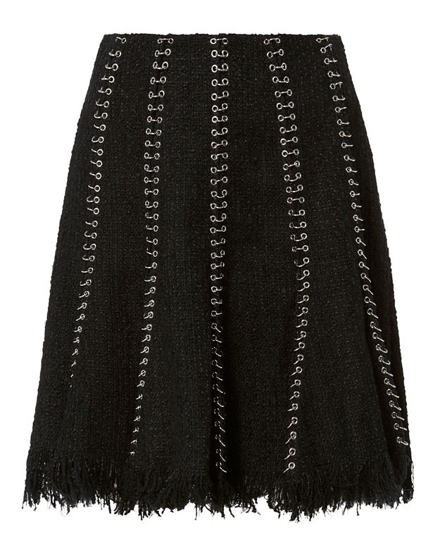 Alexander Wang Ring Seam Flare Skirt