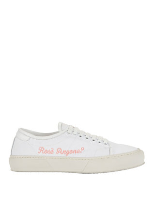 Joshua Sanders Rosé Anyone? Lace-Up Sneakers