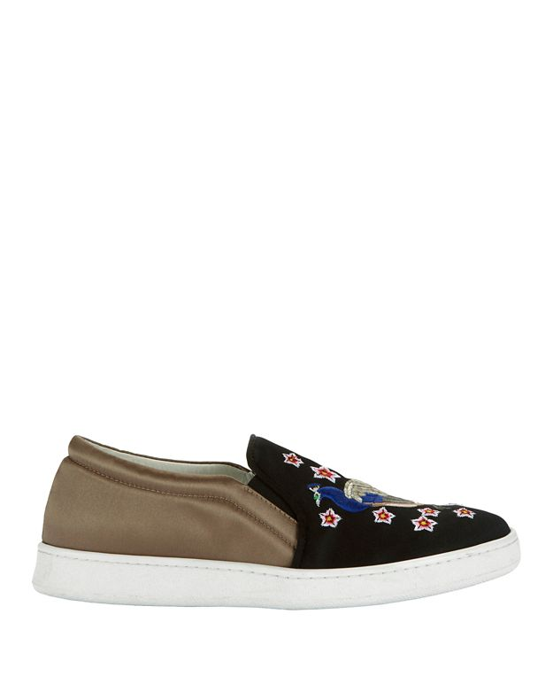 Joshua Sanders Peacock Slip-on Sneakers