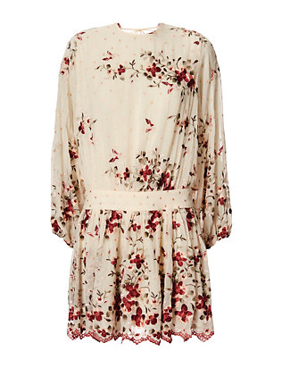 Zimmermann Sakura Embroidery Dress