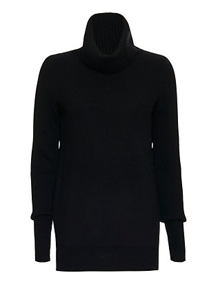Christopher Fischer EXCLUSIVE Ribbed Turtleneck: Black