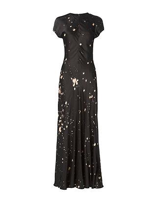 Splatter Print Gown