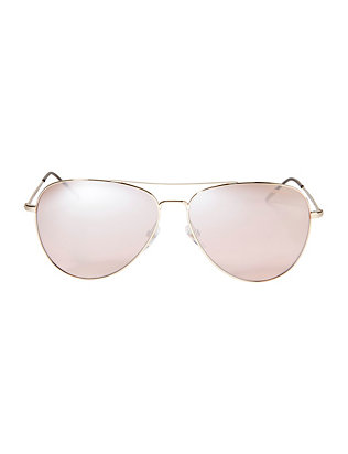 Carrera Pink Mirror Aviator Sunglasses