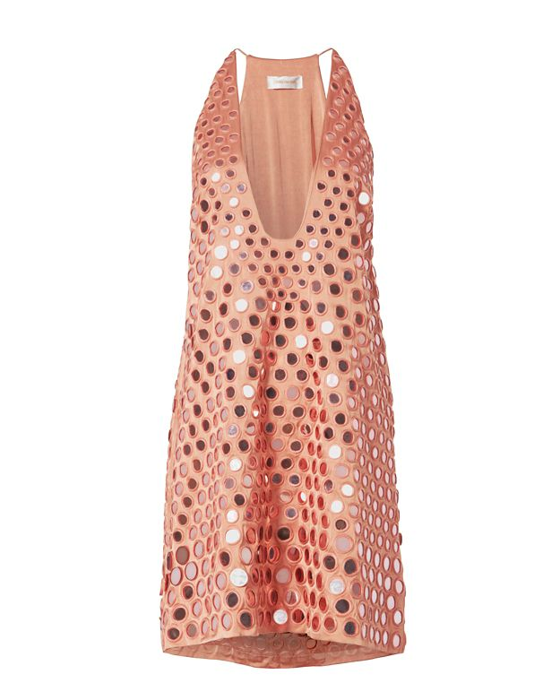 Zimmermann Embellished Mirror Shift Dress