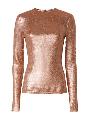 Zimmermann Karmic Metallic Lame Top