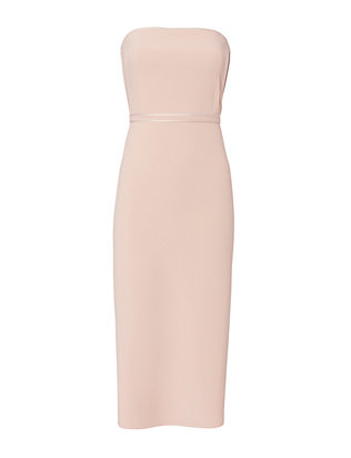 Elizabeth and James Sierra Fitted Strapless Dress