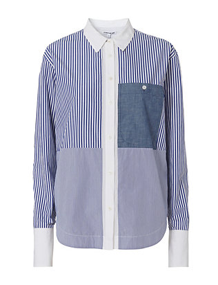 Elizabeth and James Keating Striped Shirt