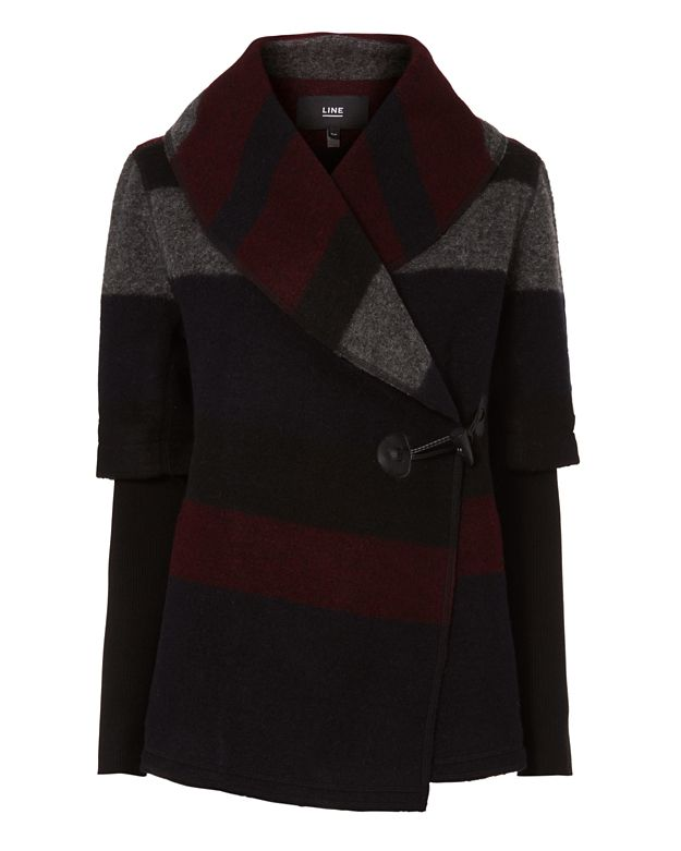 Line Blossom Jewelbox Sweater Coat