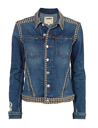 Celine Studded Jean Jacket