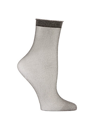 Metallic Lurex Socks