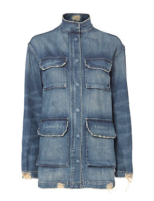 Nili Lotan Lori Denim Jacket