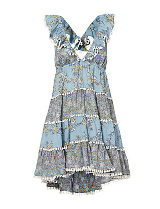 Zimmermann Tiered Print Sun Dress