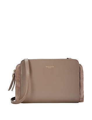 Marche Duo Crossbody: Khaki