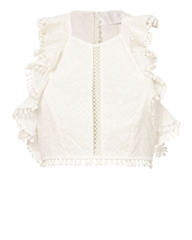 Zimmermann Flutter Bodice Top