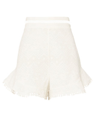 Zimmermann Flutter Shorts