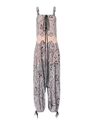 Daisy Chain Print Jumpsuit
