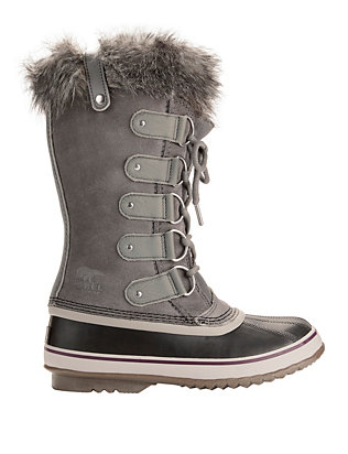 Joan of Arctic Faux Fur Grey Snow Boots