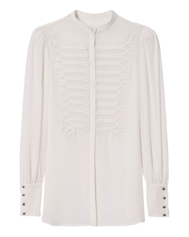 Redemption Embroidered Band Blouse