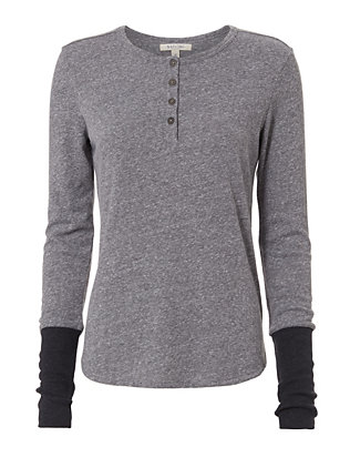 Nation LTD Thumbhole Cuff Henley