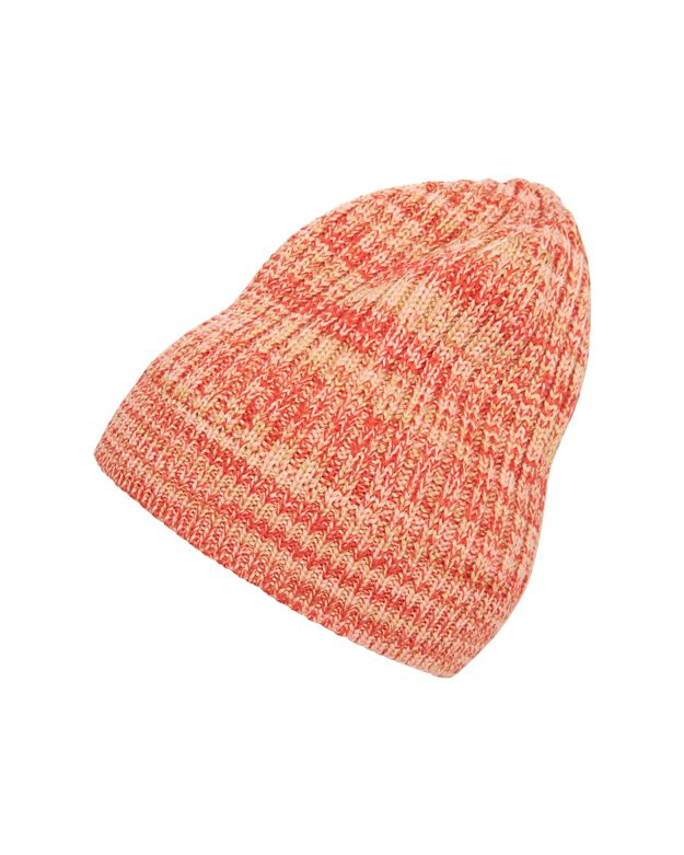 Missoni Space Dye Knit Beanie: Red