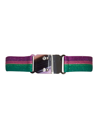 Missoni Striped Lurex Stretch Belt