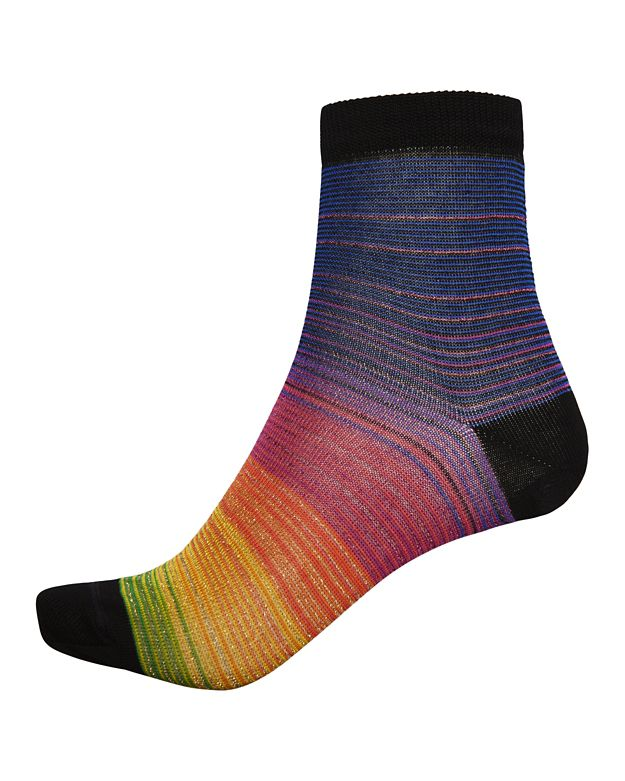 Missoni Rainbow Stripe Lurex Socks