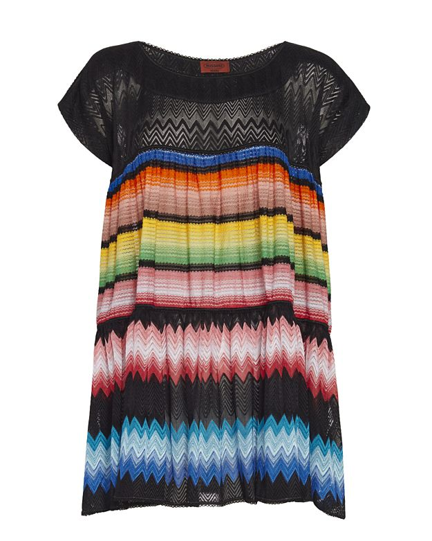Missoni Mare Knit Baby Doll Dress