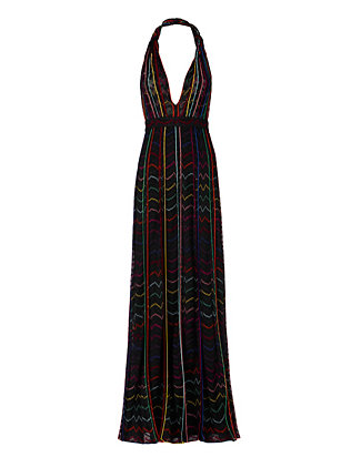 Missoni Lurex Halter Gown