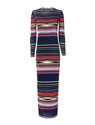 Missoni Lurex Stripe Maxi Dress