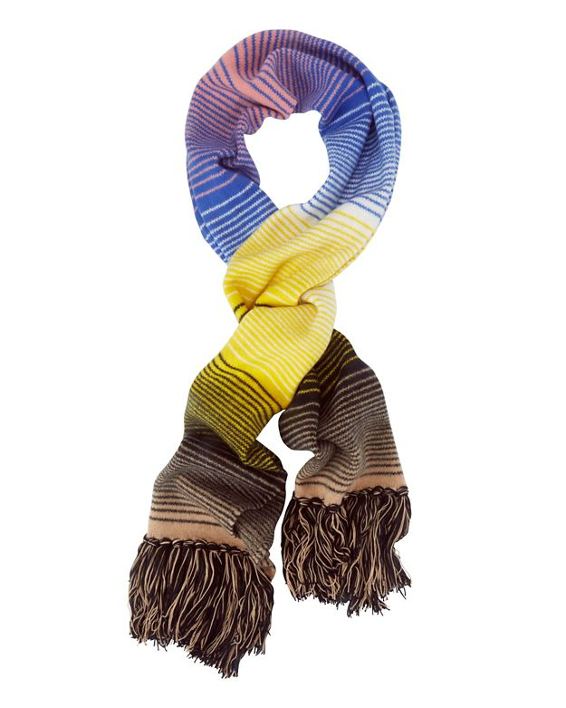 Missoni Striped/Fringe Scarf