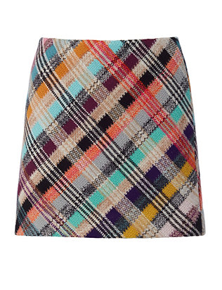 Missoni Geometric Knit Mini Skirt