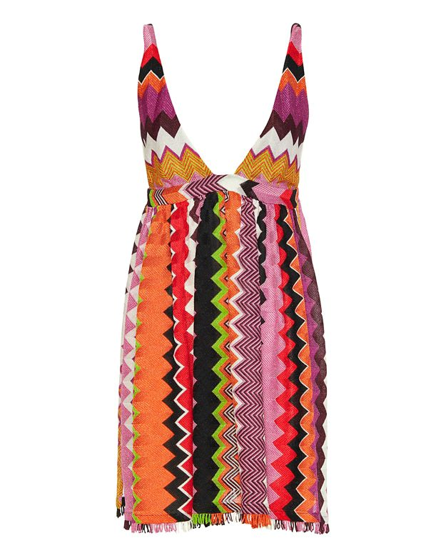 Missoni Mare Baby Doll Lurex Knit Dress