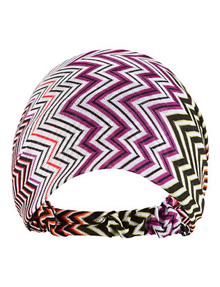Missoni Chevron Knit Tie Scarf Headband