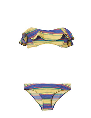Natalie Stripe Bikini- FINAL SALE
