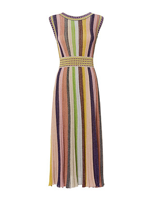 Missoni Knit Pleat Dress