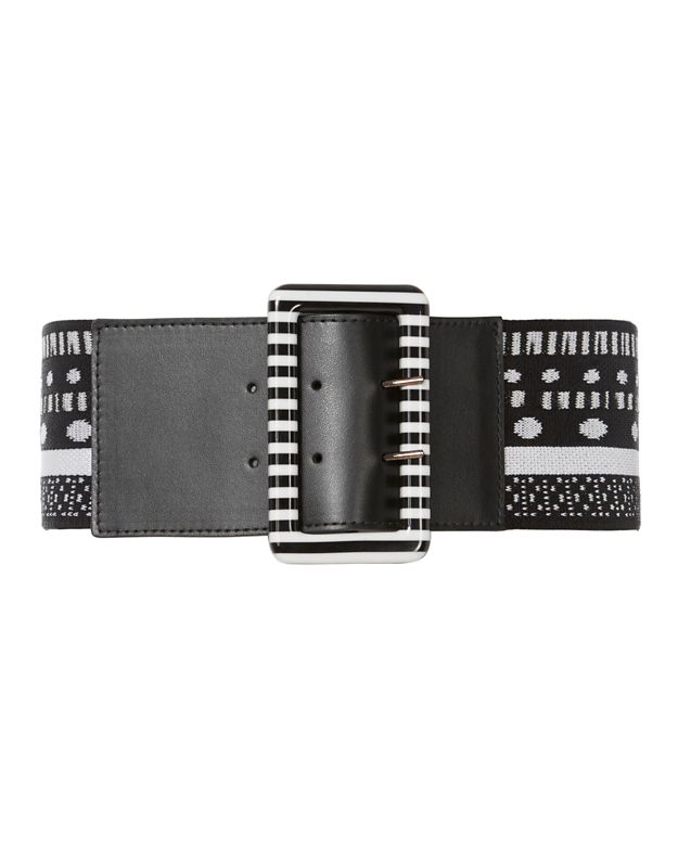 Missoni Monochrome Knit Belt