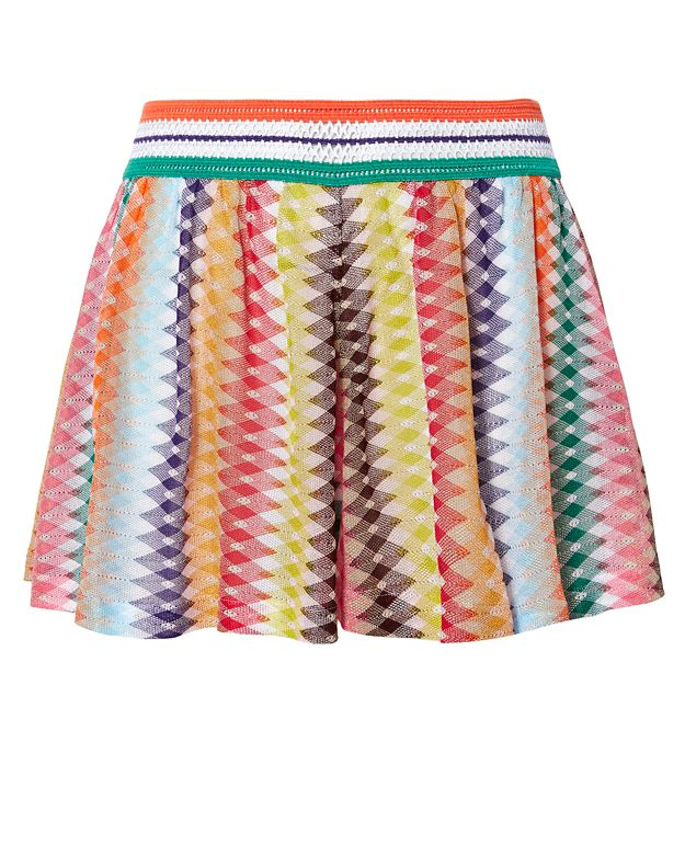 Missoni Mare Knit Waistband Shorts