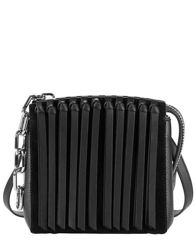 Alexander Wang Attica Small Fringe Leather Satchel
