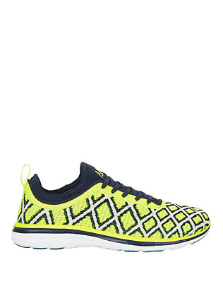 TechLoom Phantom Pro Neon Print Performance Sneakers
