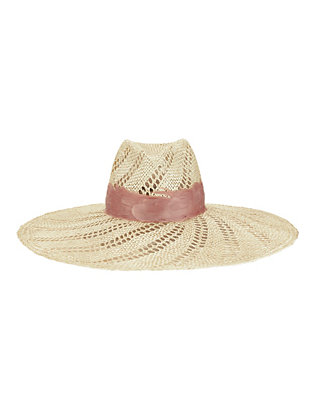 Eugenia Kim Cassidy Feather Trim Hat