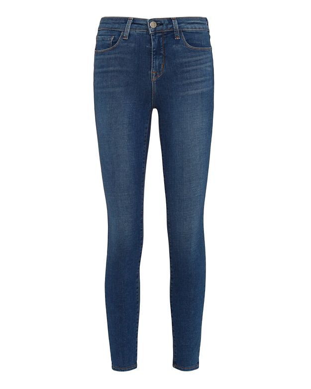 L'Agence Margot Vintage High-Rise Ankle Skinny Jeans