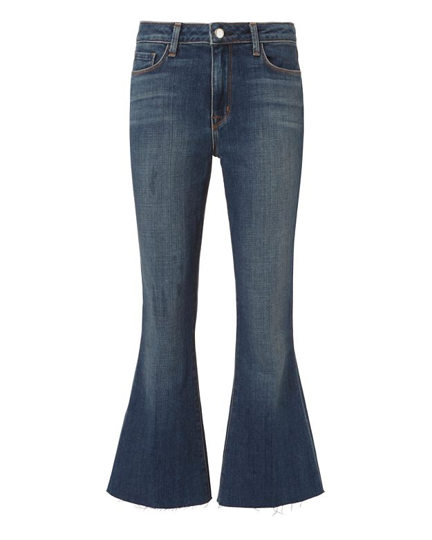 L'Agence Sophia High-Rise Crop Jeans