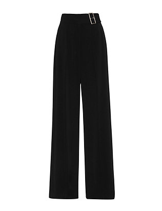 A.L.C. Madeleine Buckle High-Waist Trouser