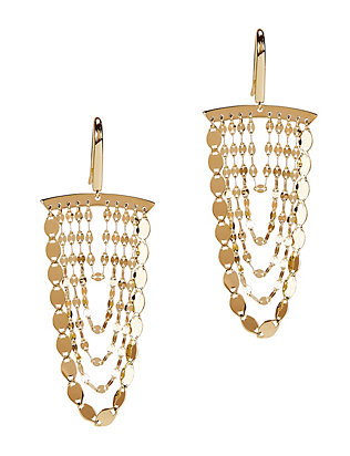 Lana Jewelry Small Nude Cascading Earrings