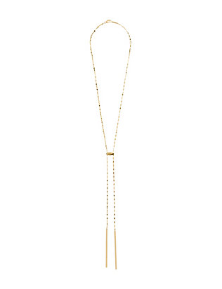 Blake Tie Up Lariat Necklace