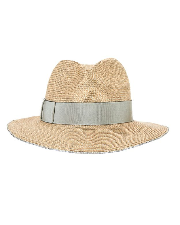 Eugenia Kim Lillian Metallic Trim Fedora
