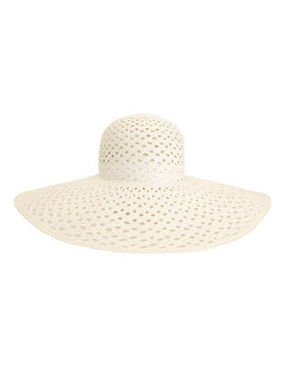 Inverni Iris Open Weave Wide Brim Hat