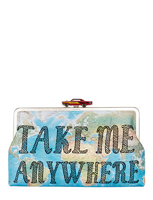 Take Me Anywhere Clutch